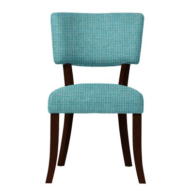 Larochelle Fusion Side Chair Upholstery: Light Blue
