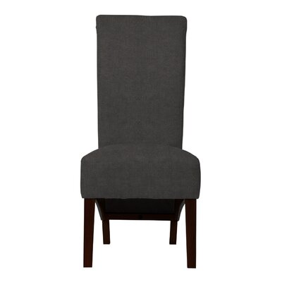 Keyesport Upholstered Formal Side Chair (Set of 2) Upholstery: Gray