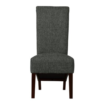 Keyesport Solid Back Parsons Chair Upholstery: Gray