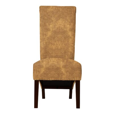 Keyesport Upholstered Formal Side Chair Upholstery: Brown
