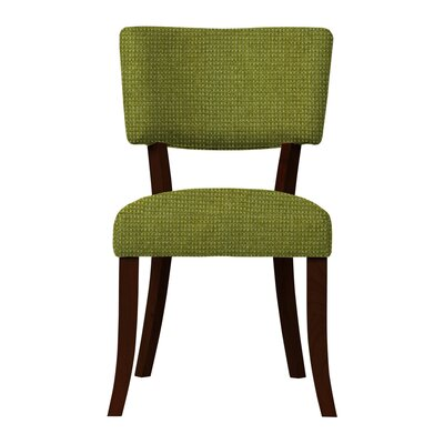 Larochelle Fusion Side Chair (Set of 2) Upholstery: Green