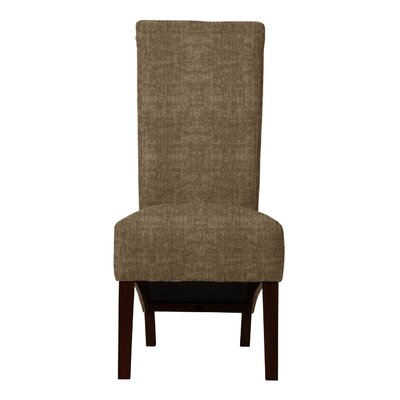 Keyesport Straight Legs Parsons Chair Upholstery: Brown