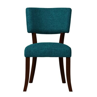 Larochelle Fusion Side Chair Upholstery: Blue