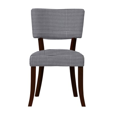 Larochelle Wood Legs Side Chair Upholstery: Dark Blue
