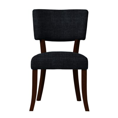 Larochelle Sonoma Fabric Side Chair Upholstery: Black