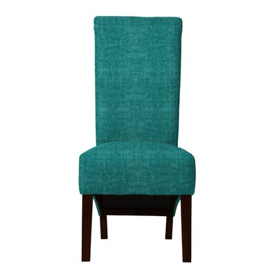 Keyesport Parsons Chair (Set of 2) Upholstery: Blue