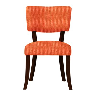 Larochelle Fusion Side Chair Upholstery: Orange