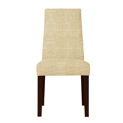 Haddonfield Fabric Parsons Chair (Set of 2) Upholstery: Beige
