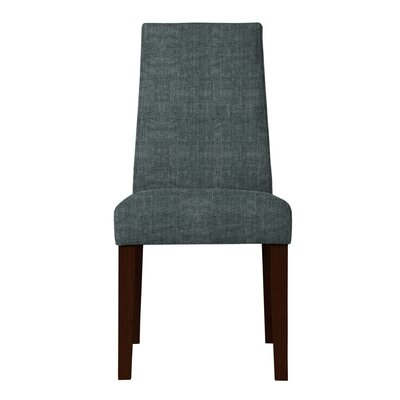 Haddonfield Fabric Parsons Chair (Set of 2) Upholstery: Gray