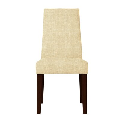 Haddonfield Fabric Parsons Chair (Set of 2) Upholstery: Cream