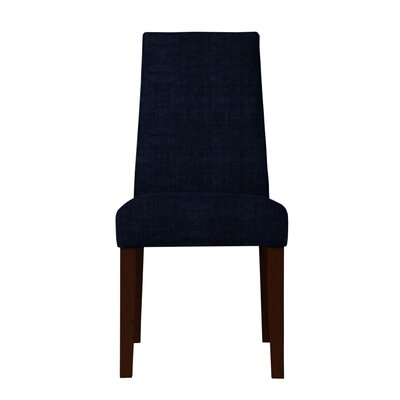 Haddonfield Fabric Parsons Chair Upholstery: Dark Blue