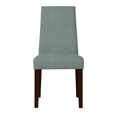 Haddonfield Upholstered Side Chair Upholstery: Light Blue