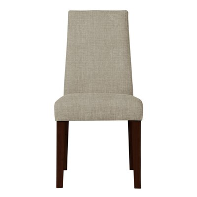 Haddonfield Upholstered Parsons Chair (Set of 2) Upholstery: Light Gray