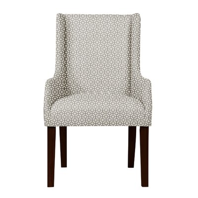 Larrabee Hardwood Frame Arm Chair Upholstery: Gray