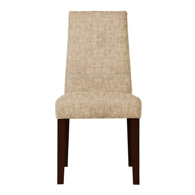Haddonfield Hardwood Frame Side Chair Upholstery: Beige