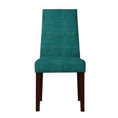 Haddonfield Fabric Parsons Chair (Set of 2) Upholstery: Teal