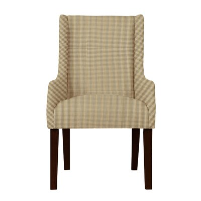 Larrabee Caro Arm Chair Upholstery: Light Brown