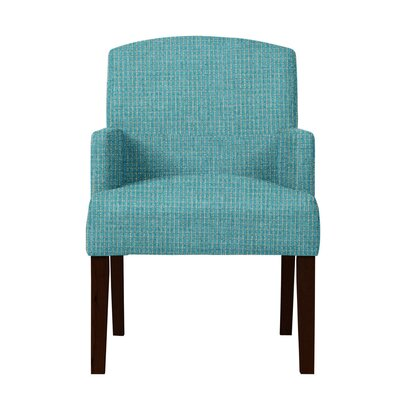 Larose Formal Arm Chair Upholstery: Turquoise