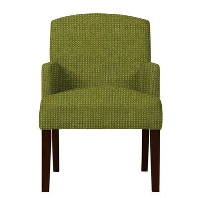 Larose Formal Arm Chair Upholstery: Green