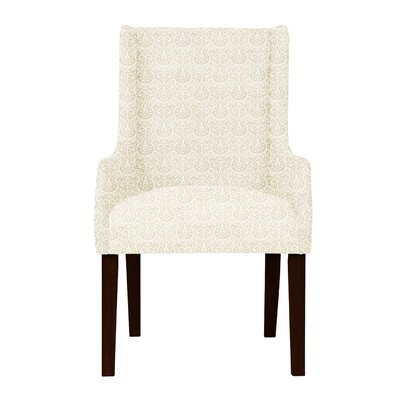 Larrabee High Leg Arm Chair Upholstery: Beige