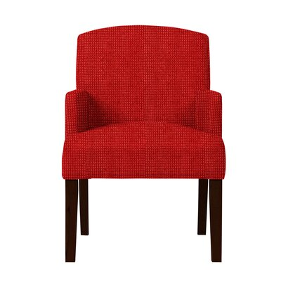 Larose Formal Arm Chair Upholstery: Red
