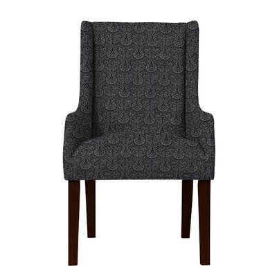 Larrabee High Leg Arm Chair Upholstery: Dark Gray