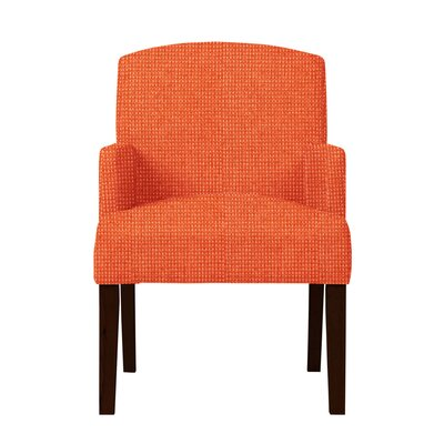 Larose Formal Arm Chair Upholstery: Orange
