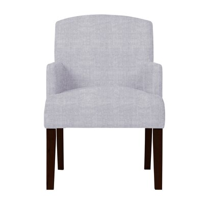 Larose Hardwood Arm Chair Upholstery: Light Gray