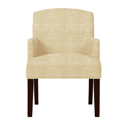 Larose Hardwood Arm Chair Upholstery: Beige