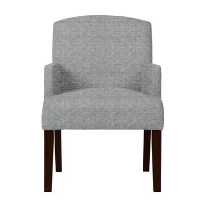 Larose Solid Upholstered Arm Chair Upholstery: Light Gray