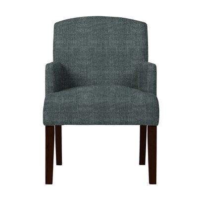 Larose Hardwood Arm Chair Upholstery: Gray