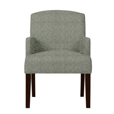 Larose Solid Upholstered Arm Chair Upholstery: Gray