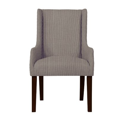 Larrabee Caro Arm Chair Upholstery: Dark Brown