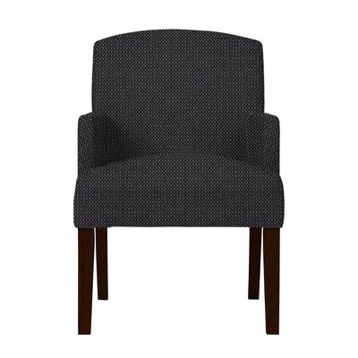 Larose Formal Arm Chair Upholstery: Dark Gray