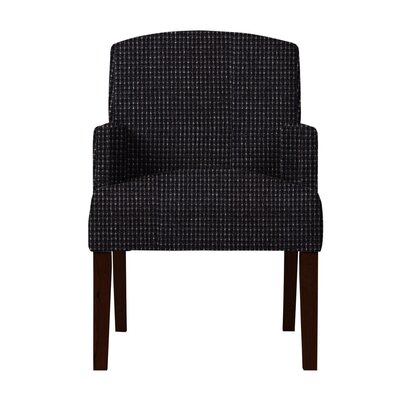 Larose Formal Arm Chair Upholstery: Black