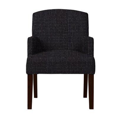 Larose Formal Arm Chair Upholstery: Black