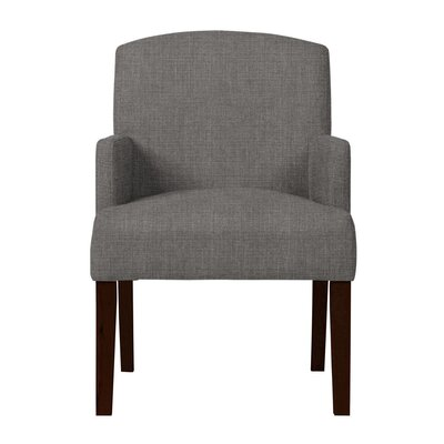 Larose Birch Arm Chair Upholstery: Dark Gray