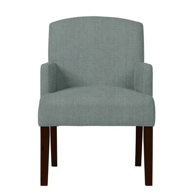 Larose Birch Arm Chair Upholstery: Light Blue