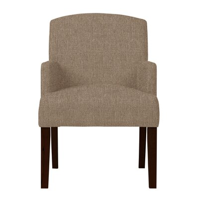 Larose Fabric Arm Chair Upholstery: Light Brown