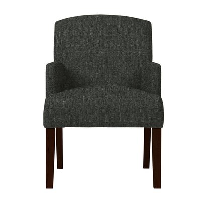 Larose Fabric Arm Chair Upholstery: Dark Gray