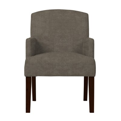 Larose Solid Wood Arm Chair Upholstery: Light Gray