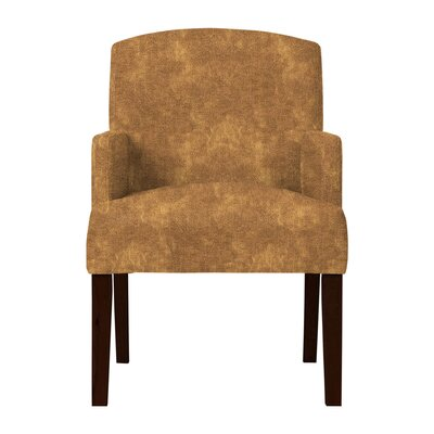 Larose Solid Wood Arm Chair Upholstery: Light Brown
