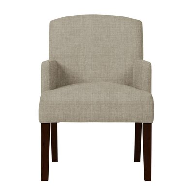 Larose Birch Arm Chair Upholstery: Light Gray