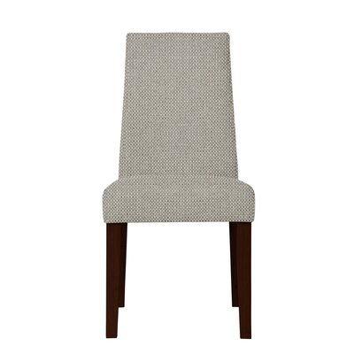 Haddonfield Hardwood Frame Parsons Chair (Set of 2) Upholstery: Light Gray