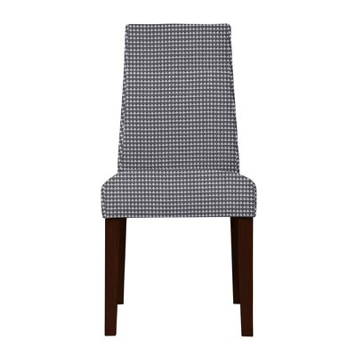 Haddonfield Fabric Cotton Side Chair Upholstery: Gray