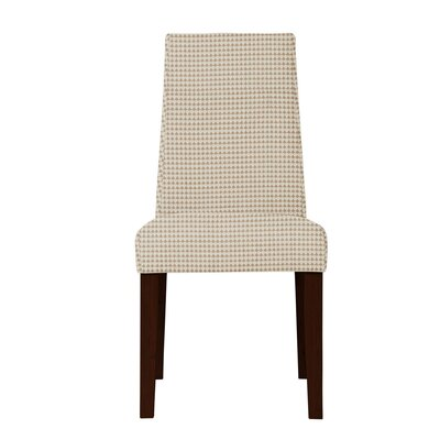 Haddonfield Fabric Cotton Parsons Chair Upholstery: Beige