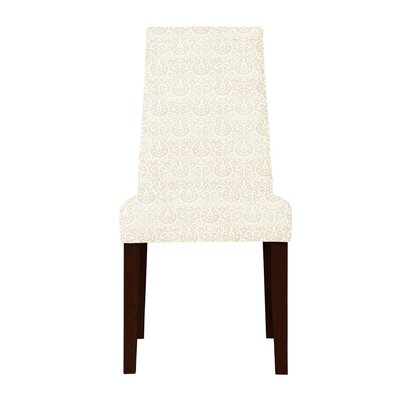 Haddonfield Parsons Chair (Set of 2) Upholstery: Beige