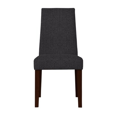 Haddonfield Hardwood Frame Parsons Chair (Set of 2) Upholstery: Dark Gray