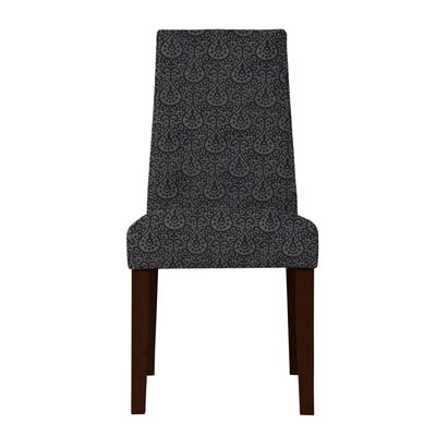 Haddonfield Side Chair (Set of 2) Upholstery: Dark Gray