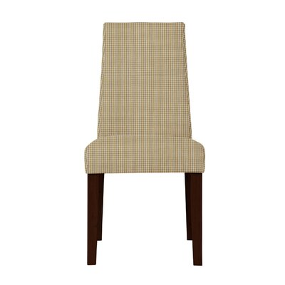 Haddonfield Cotton Parsons Chair Upholstery: Light Brown